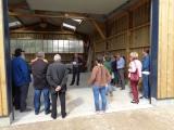 Inauguration du hangar des services techniques